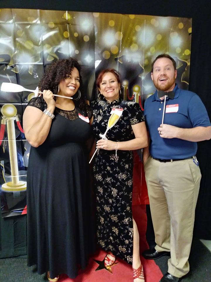 AnswerFirst Employees at 2017 Holiday Party and GEM Award